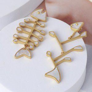 Tory Burch Shell Earrings